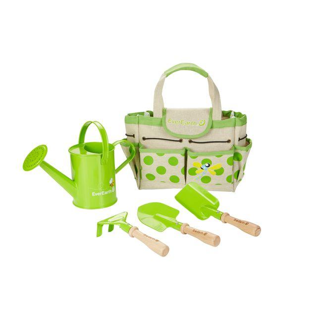 EVEREARTH Set de jardinage avec sac et outils - EE33646