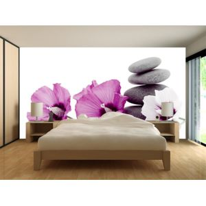 declina papier peint deco adh sif fleurs top vente poster xxl mural pas cher achat. Black Bedroom Furniture Sets. Home Design Ideas