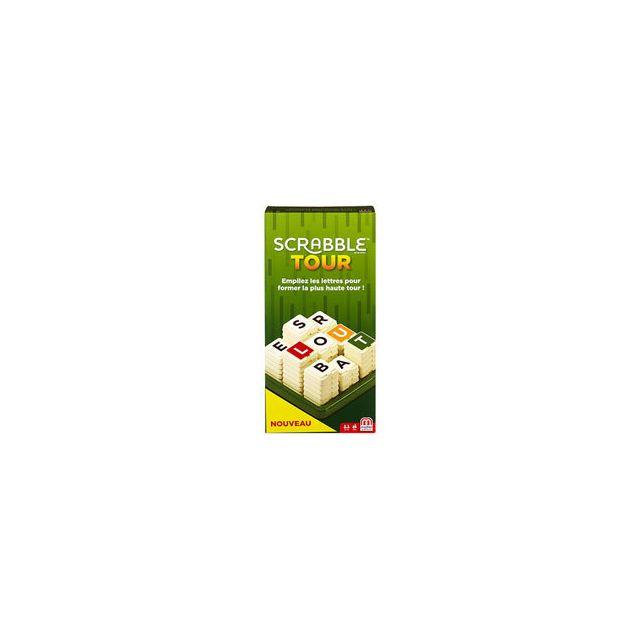 Mattel Jeux Scrabble Tour
