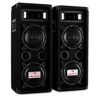 "MALONE - PW-65X22 paire d'enceintes sono 2x16cm 6,5"", 2x300 W RMS 2x600 W max"