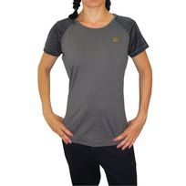 Lotto - Tee shirt indy ii gris gris anthracite
