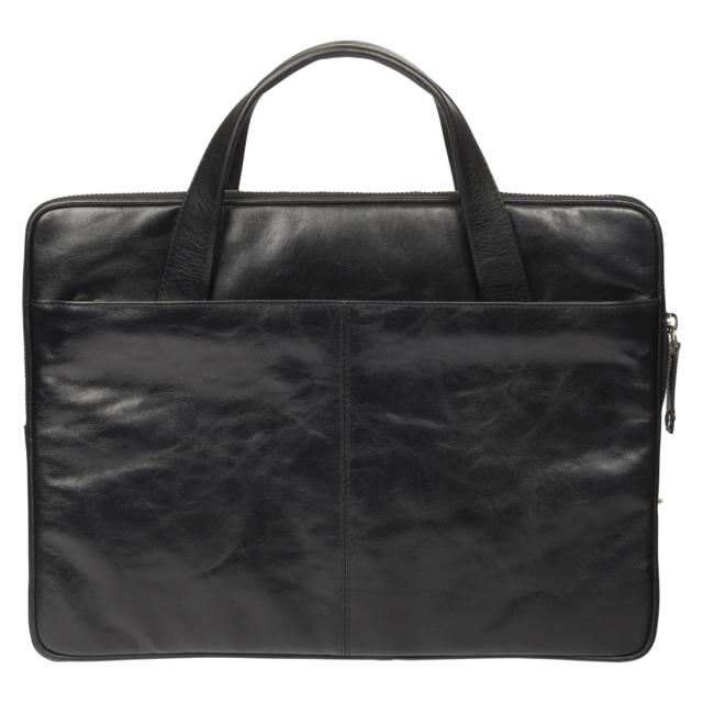 f425dd5fc0 Alpexe - Sacoche en cuir noir Dbramante1928 pour Pc ou MacBook 13 pouces