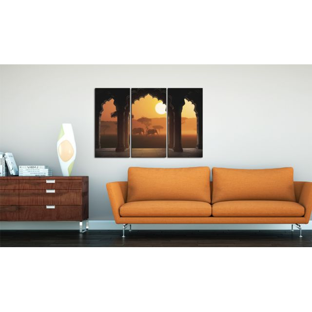 90x60 Tableau Joli Sérénité de l'Afrique
