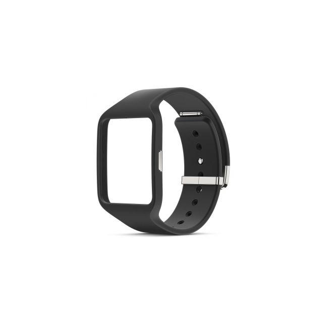 sur les images de pieds de officiel vente chaude Sony - Bracelet Swr510 pour SmartWatch 3 coloris noir - pas ...