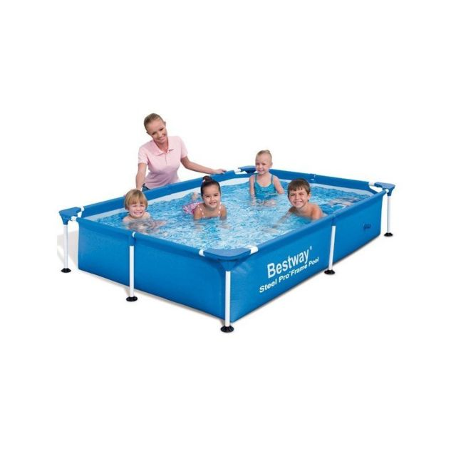 bestway piscine tubulaire rectangulaire sans filtration. Black Bedroom Furniture Sets. Home Design Ideas