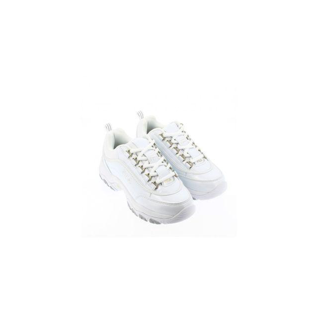 Fila Chaussures Strada M Low blanc femme pas cher Achat