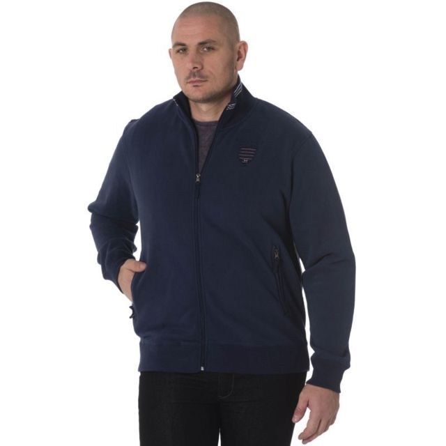7d0ca68088c9 Ruckfield - Gilet zippé Bleu marine - pas cher Achat   Vente Gilet ...