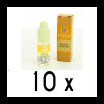 Pulp - Lot 10 e-liquides Granite de Melon 12mg soit 4,90 euros le flacon 10ml