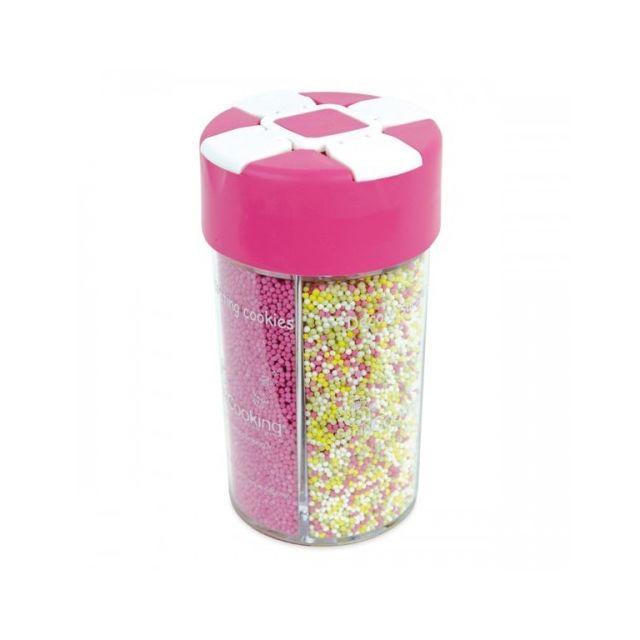 Scrapcooking Boîte distributrice décors sucrés 'couleur naturelle