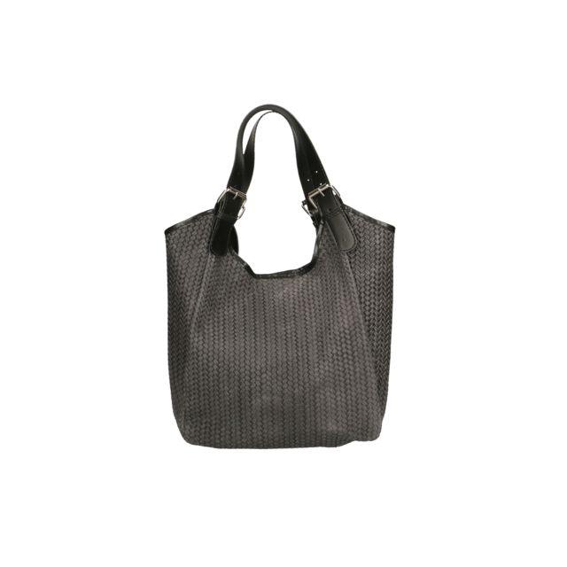 958f2e3765 Oh My Bag - Sac à main femme en cuir tissé - pas cher Achat / Vente ...