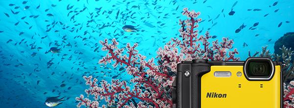 Nikon appareil photo compact étanche noir w300 NIKON-COOLPIX-W300-NOIR