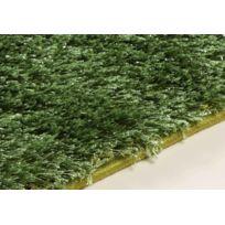 Flora Carpets - Tapis Shaggy de Salon Brillant et Elégant 80X150 - Vert - Monl