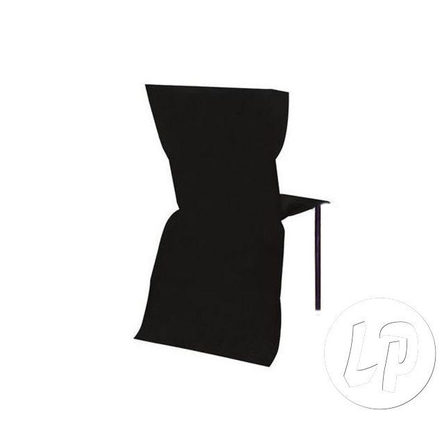 Housse De Chaise Qualité Épais Coolminiprix Papier Intissé Noir SMVpqUz