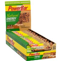 PowerBar - Natural Energy Cereal - Nutrition sportive - Cacao-Crunch 24 x 40g vert/marron