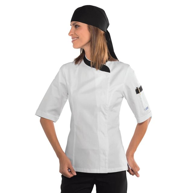 Veste de cuisine femme pas cher
