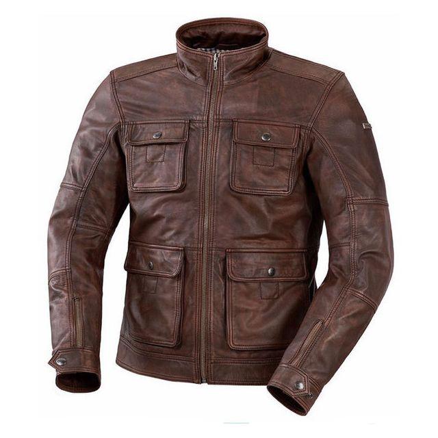 Blouson cuir comptoir des cotonniers 2012