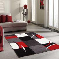 DEZENCO - Tapis de Salon Moderne Design DIAMOND COMMA