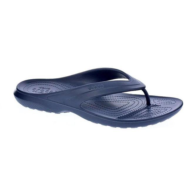 a4ae8a1cf60 Crocs - Chaussures Homme Sandales modele Classic Flip Bleu - pas cher Achat    Vente Sandales et tongs homme - RueDuCommerce
