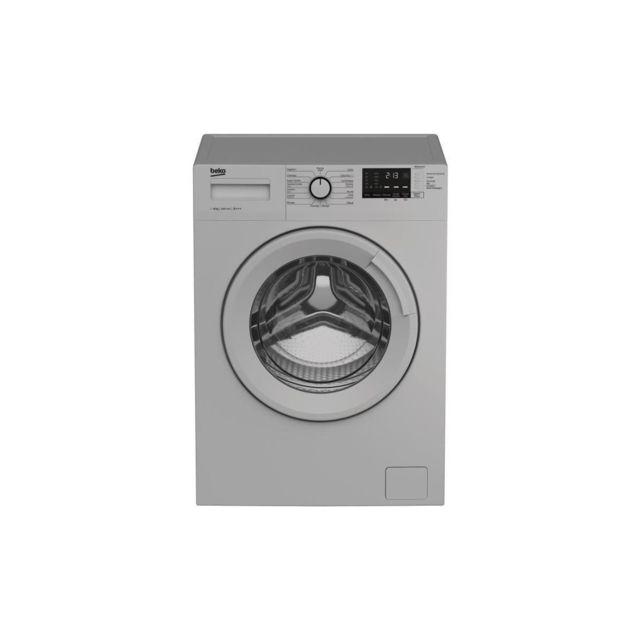 Beko Wm1014chs - Lave Linge Frontal - 10 Kg - 1200 Trs/min - A+++ - Silver