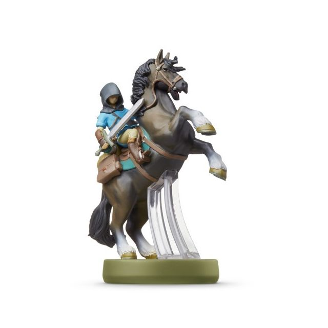 nintendo figurine amiibo the legend of zelda link cheval. Black Bedroom Furniture Sets. Home Design Ideas