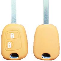 Altium - Housse de clé Peugeot - Citroën 2 boutons - Orange 650663