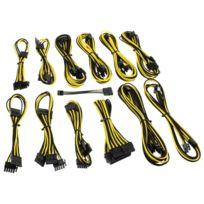 CABLEMOD - Kit de câbles gainés B-Series Dark Power Pro – NOIR / JAUNE