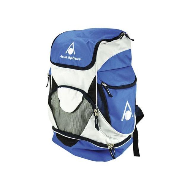 Aquasphere - Sac à dos de natation Aqua Sphere Back Pack bleu blanc ... 76539a4b1970