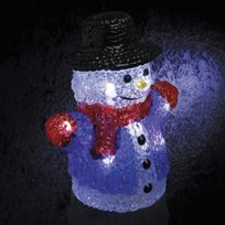 Sans Marque - Décoration de Noël Lumineuse - Bonhomme de neige
