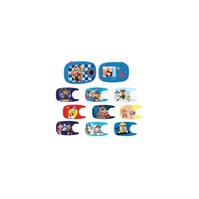 LEXIBOOK Pat' Patrouille Appareil photo numérique avec 10 stickers - DJ070PA - 3 ans et