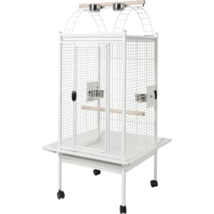 zolux cage perruche et perroquet kambela 76 blanche pas cher achat vente cage oiseaux. Black Bedroom Furniture Sets. Home Design Ideas