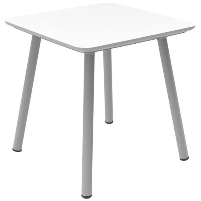 Table de jardin Julien Blanc 219259