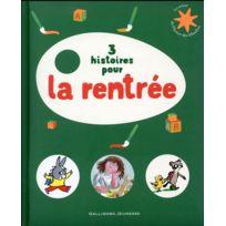 Gallimard-jeunesse - 3 histoires pour la rentrée