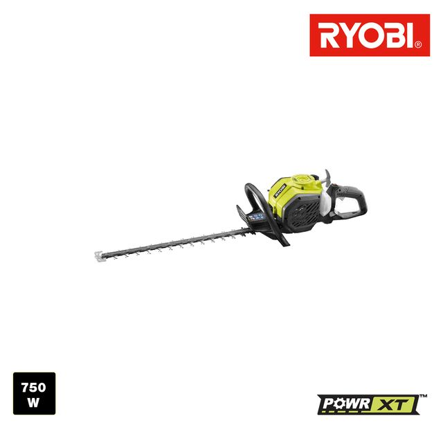 ryobi taille haies thermique 750w rht25x60ro. Black Bedroom Furniture Sets. Home Design Ideas