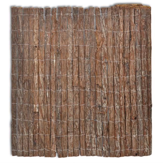 Rocambolesk - Superbe Clôture en écorce Neuf