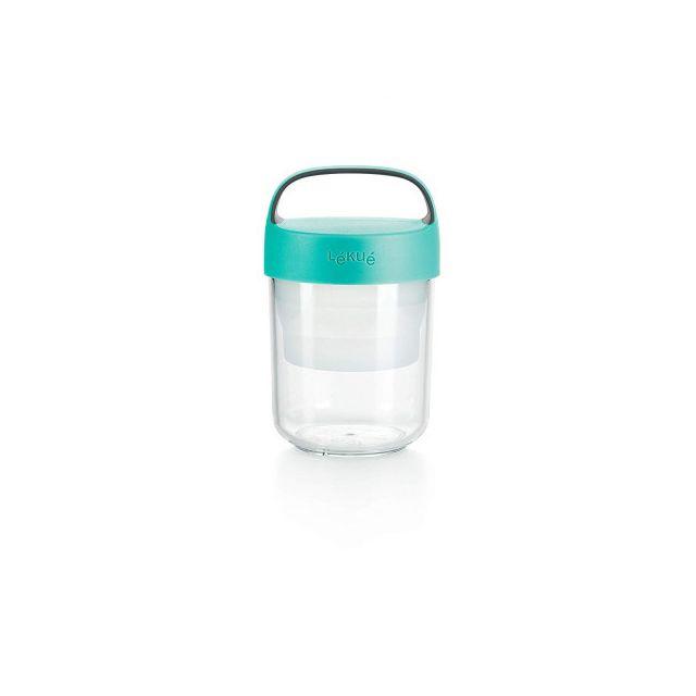 Lékué Lekue Bocal de voyage Jar to go 40 cL turquoise