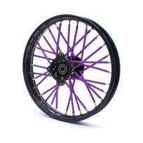 Pitrider - Couvre rayon Violet - Spoke Skins - Dirt bike / Pit bike / Mini Moto