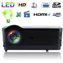 Yonis - Vidéoprojecteur Full Hd 1080p 3000 Lumens Home cinéma jeux vidéo films