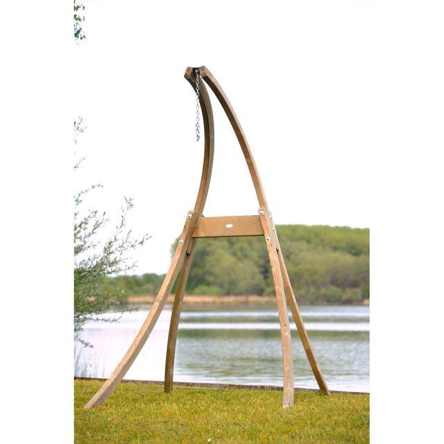 amazonas support hamac chaise en bois atlas pas cher achat vente hamac rueducommerce. Black Bedroom Furniture Sets. Home Design Ideas