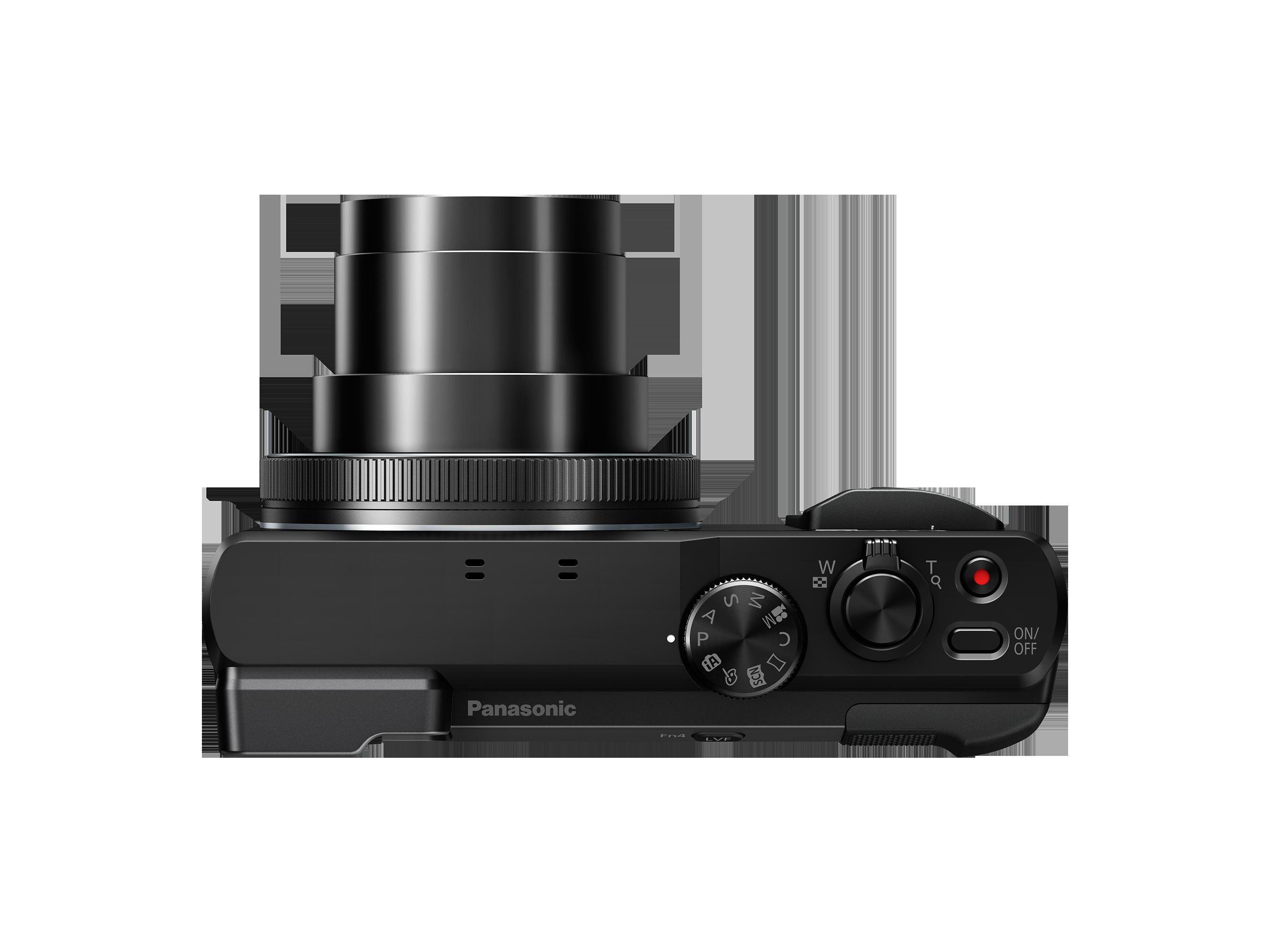 LUMIX DMC-TZ80 - Noir