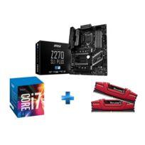 Kit evolution i7 7700K + Z270 SLI PLUS + 16 Gb DDR4