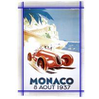Editions Club Pom - Torchon de cuisine rectangulaire en coton Monaco