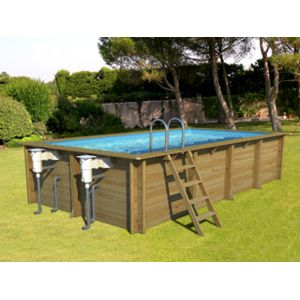 Cerland pool zen spa kit piscine bois weva recta50 Piscine bois cerland
