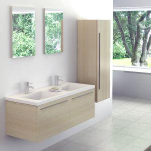 meuble salle de bain couleur ivoire