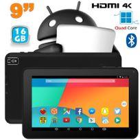 Yonis - Tablette 9 pouces Android 6.0 Tactile Hdmi 4K 1,5GHz 1Go Ram Noir 16Go