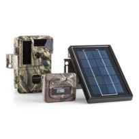 DURAMAXX - Solar Grizzly Caméra embarquée faune &flore LED HD 8 MP panneau solaire