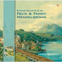 Genuin Musikproduktion - Mendelssohn Felix Et Fanny : Quatuors À Cordes. Quatuor Merel Cd