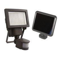 AREV - Projecteur solaire à détection 108 LEDs 1000 Lumens
