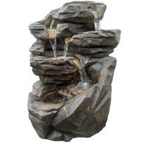zen fontaine relaxante niagara clairages leds - Fontaine A Eau Zen