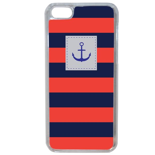 Lapinette - Coque Souple Pour Apple Iphone 8 Plus Motif Marin Breton 1