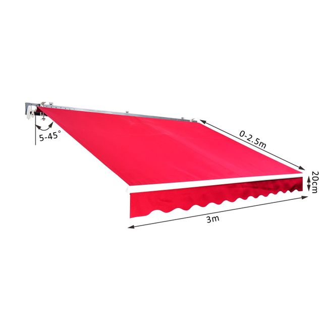 store banne manuel 6x3 store banne coffre samoa x m. Black Bedroom Furniture Sets. Home Design Ideas